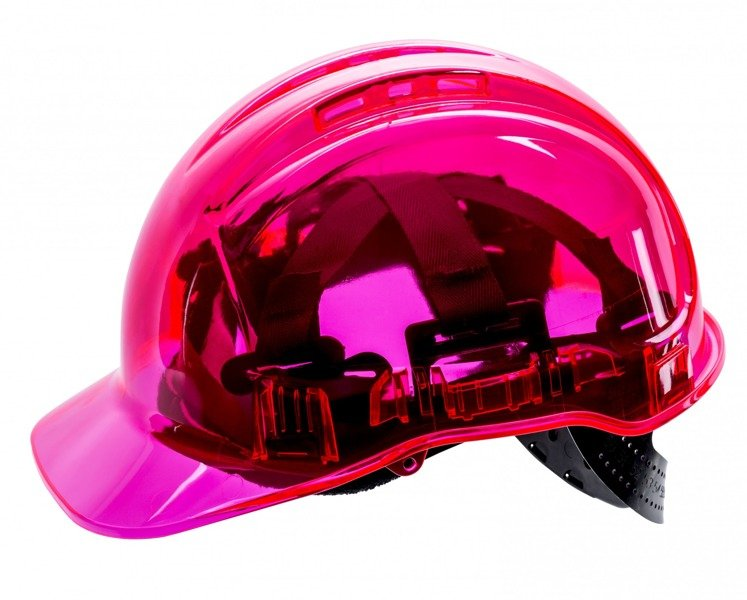 d5b255d983befb Hełm roboczy ochronny Peak View Plus PV54 PORTWEST RÓŻOWY | Ochrona ...