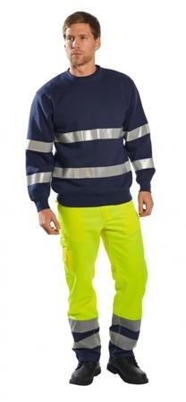 Bluza robocza z pasami odblaskowymi B307 Portwest