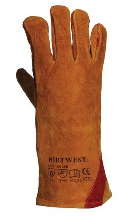 Rękawice spawalnicze do spawania A530 Portwest